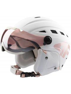 Kask narciarski damski KSD152 - biały