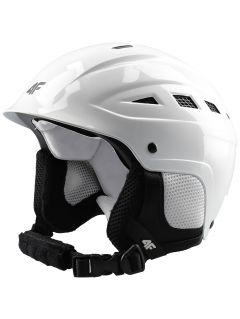 Kask narciarski damski KSD350 - biały