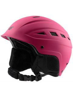 Kask narciarski damski KSD350 - różowy