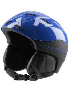 Kask narciarski męski KSM150 - niebieski
