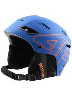 Kask narciarski męski KSM250 - niebieski