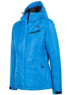 Kurtka narciarska damska KUDN253 - niebieski