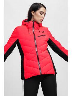Kurtka narciarska damska KUDN256 - czerwony