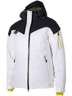 Kurtka narciarska męska KUMN152 - biały