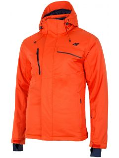 Kurtka narciarska męska KUMN253 - pomarańcz