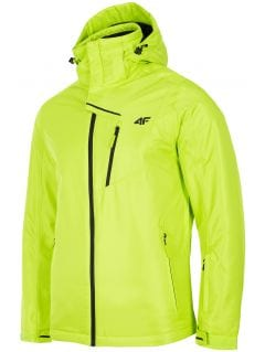 Kurtka narciarska męska KUMN253R - soczysta zieleń