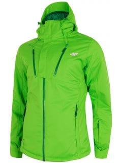 Kurtka narciarska męska KUMN254 - jasna zieleń