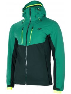 Kurtka narciarska męska KUMN258 - morska zieleń