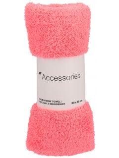 Ręcznik sportowy RECU201A - różowy neon