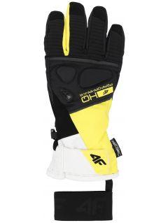 Rękawice narciarskie damskie RED150 - żółty
