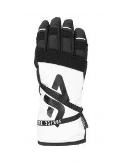 Rękawice narciarskie damskie RED253 - biały