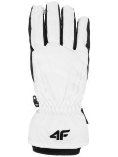 Rękawice narciarskie damskie RED350 - biały