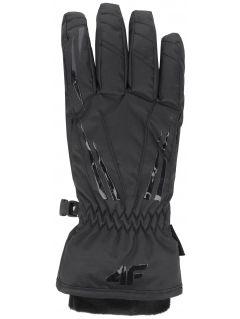 Rękawice narciarskie damskie RED350 - głęboka czerń