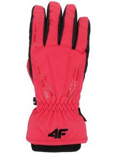 Rękawice narciarskie damskie RED350 - różowy
