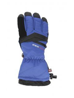 Rękawice narciarskie męskie REM150 - kobalt