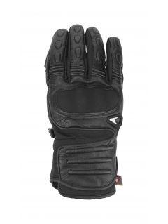 Rękawice narciarskie męskie REM151 - głęboka czerń