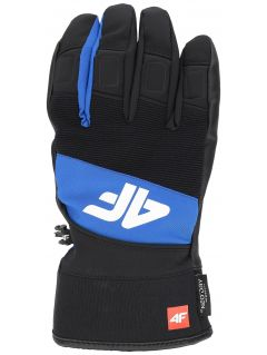 Rękawice narciarskie męskie REM250 - kobalt