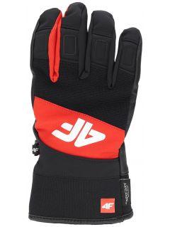Rękawice narciarskie męskie REM250 - czerwony
