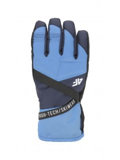 Rękawice narciarskie męskie  REM251 - denim