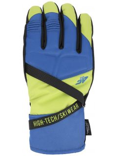 Rękawice narciarskie męskie REM251 - soczysta zieleń