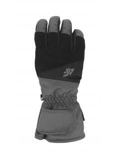 Rękawice narciarskie męskie REM350 - głęboka czerń
