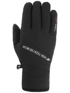 Rękawiczki softshellowe uniseks REU105 - głęboka czerń