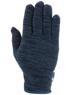 Rękawiczki polarowe uniseks REU301 - granat