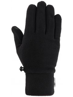 Rękawiczki polarowe uniseks REU302 - głęboka czerń