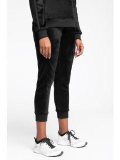 Spodnie dresowe damskie SPDD223 - głęboka czerń