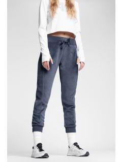 Spodnie dresowe damskie SPDD223 - ciemny granat