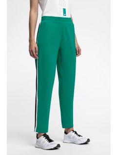 Spodnie dresowe damskie SPDD224 - zielony