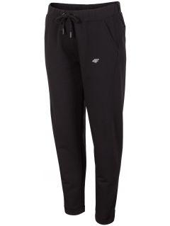 Spodnie dresowe damskie SPDD291 - głęboka czerń