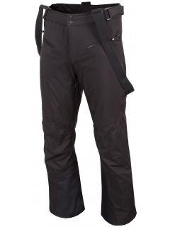 Spodnie narciarskie męskie SPMN251 - głęboka czerń