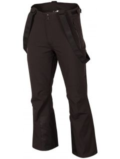 Spodnie narciarskie męskie SPMN251R - głęboka czerń