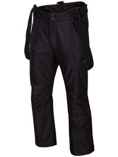 Spodnie narciarskie męskie SPMN350 - głęboka czerń