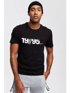 T-shirt męski TSM254 - głęboka czerń
