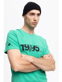 T-shirt męski TSM254 - zielony