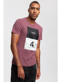 T-shirt męski TSM268 - burgund