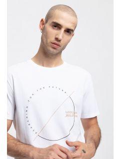 T-shirt męski TSM269 - biały