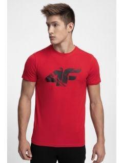 T-shirt męski TSM280 - czerwony