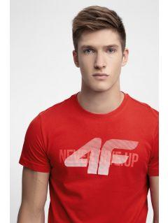 T-shirt męski TSM282 - czerwony