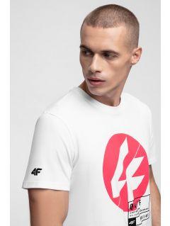 T-shirt męski TSM285 - biały