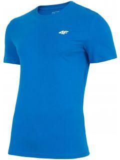 T-shirt męski TSM300 - niebieski