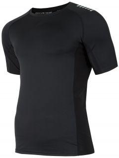 Koszulka treningowa męska TSMF155 - głęboka czerń