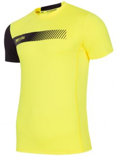 Koszulka treningowa męska TSMF156 - żółty