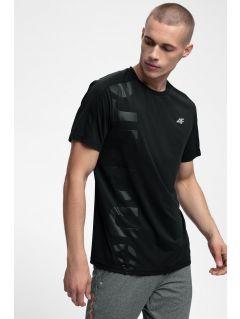 Koszulka do biegania męska TSMF257 - głęboka czerń