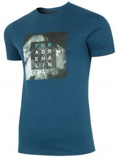 T-shirt męski TSM001 - granat