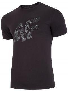 T-shirt męska TSM002 - głęboka czerń