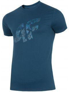 T-shirt męski TSM002 - granat