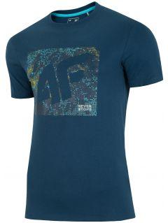 T-shirt męski TSM003 - granat